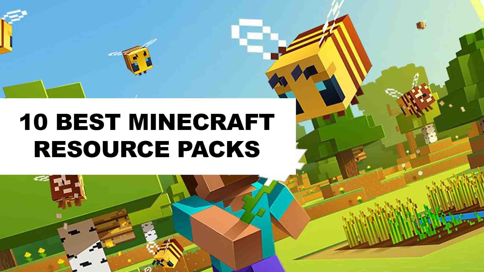 9 Best Minecraft Resource Packs - Texture Packs in 9 - WikiWax