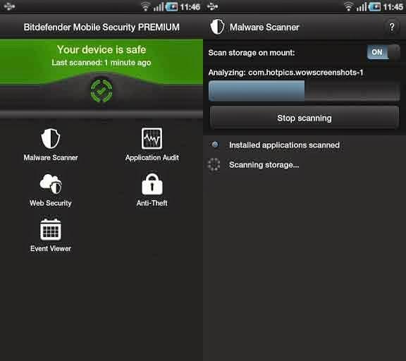 Free Virus Cleaner Bitdefender for Android