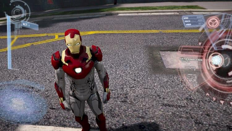 Iron Man gta v mods