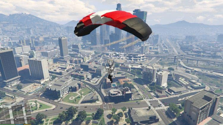 Just Cause 2 Eject + Parachute Thrusters gta 5 mods pc