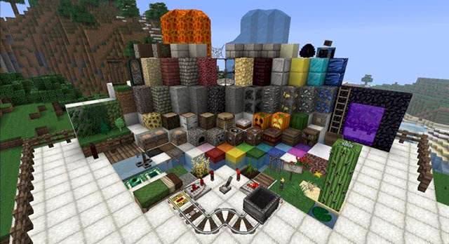 Ovo's Rustic Resource Pack - Minecraft Resources Pack