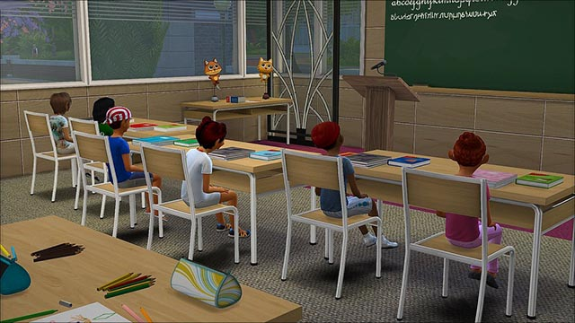 Sims 4 Mods for School and College
