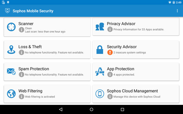 Sophos Virus Removal App for Free Mobile Security