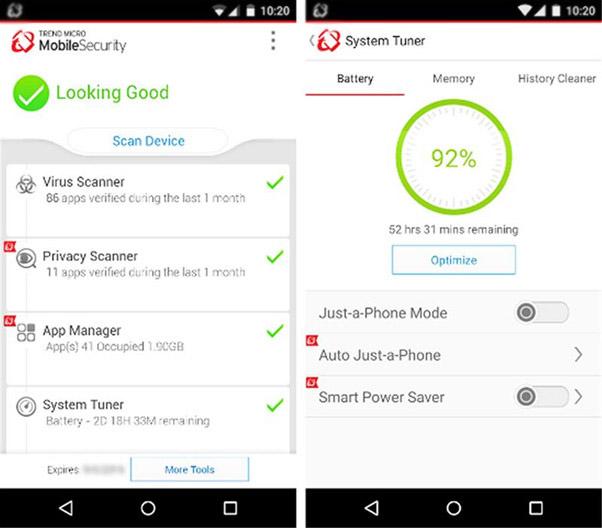 Trend Micro Free Virus Cleaner App