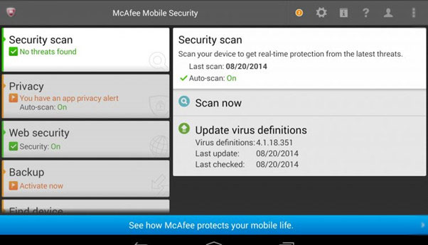 Virus Removal App for Free McAfee
