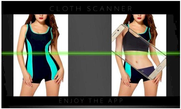 cloth scanner simulator