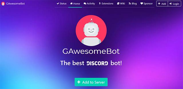 GAwesome Bot