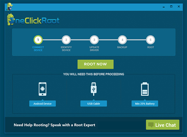 OneClickRoot Best Android Root Software