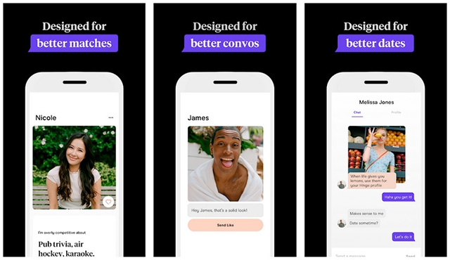 Hinge - Better Matches on Dating