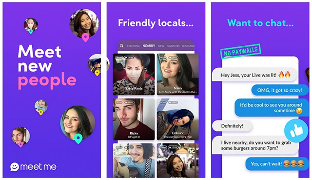 MeetMe - Meet New People and Date Locals