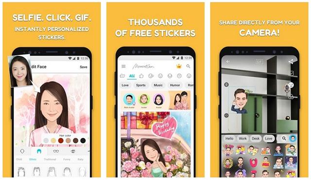 MomentCam Cartoon & Stickers