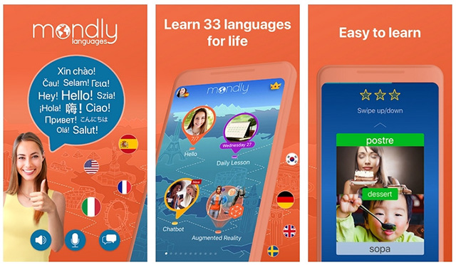 Mondly - Easy to Learn Spanish and Other Languages