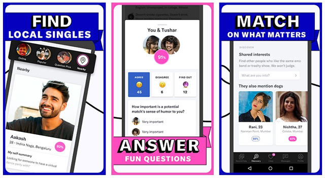 OkCupid - best android dating app of the year