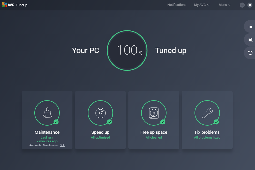 AVG Tuneup - Best Free Pc Cleaner