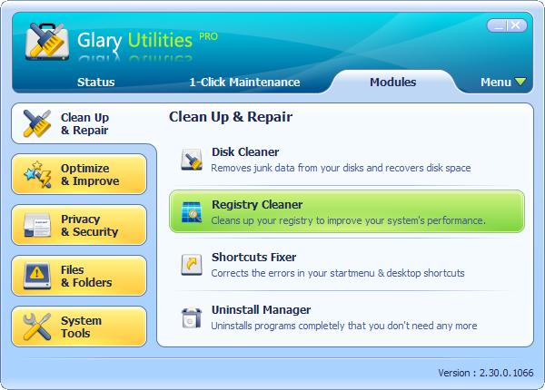 Glary Utilities Pro - Free Pc Optimizer