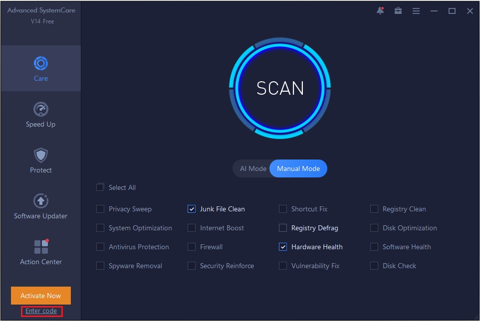 Iobit Advanced system care - Best Free Pc Optimizer