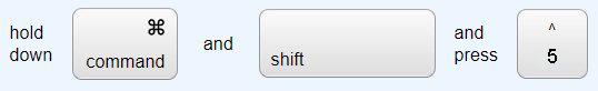 Shortcut 3 to take screenshot on mac