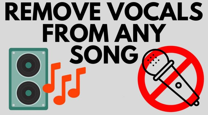 How to Remove Vocals from a Song for FREE