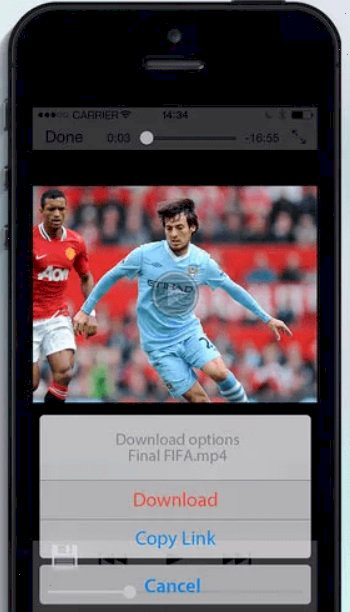Video Downloader– Media Player and Download Manager for iOS