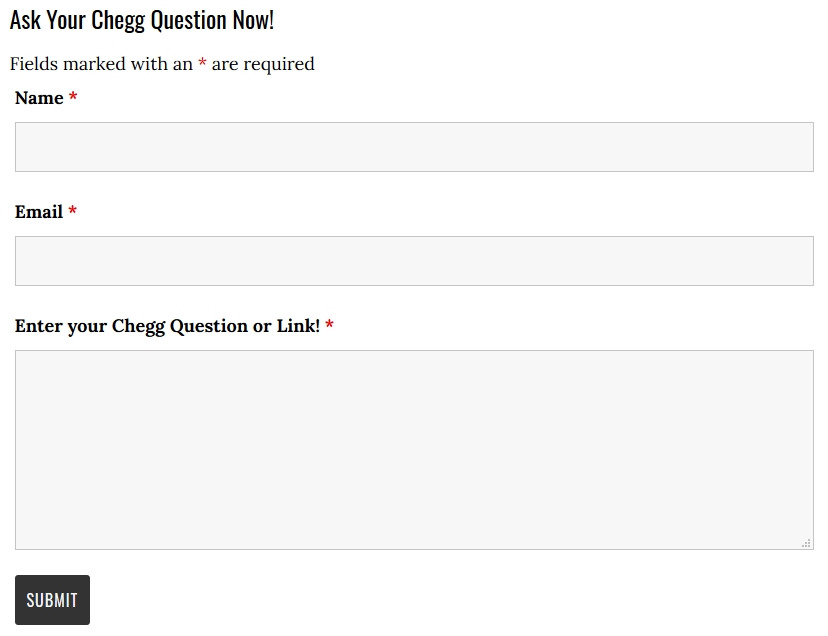 Use TrickyScoop to Unblur Chegg Answers