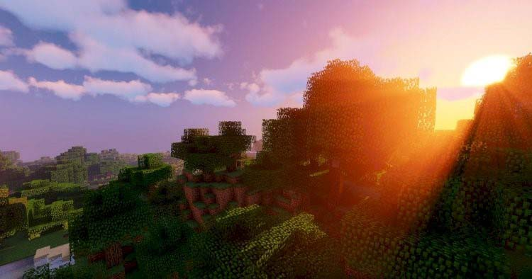 Sildurs Vibrant World is one of the top Minecraft shaders of the year
