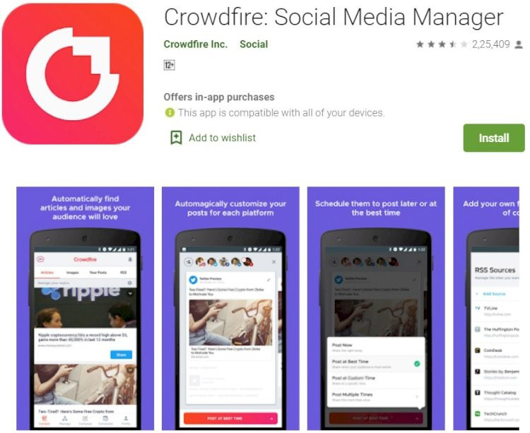 Crowdfire for Free Instagram Followers Online