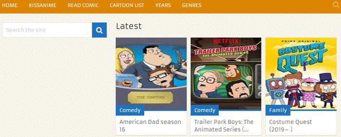 WatchCartoonsOnline for Free Anime and Cartoon