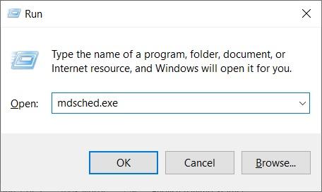 kernel security check failure windows-memory diagnostic