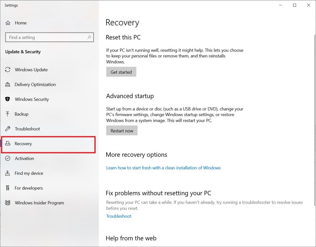 kernel_security_check_failure - recovery