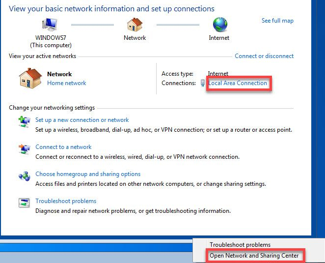 Network troubleshooter - WiFi Connected No Internet