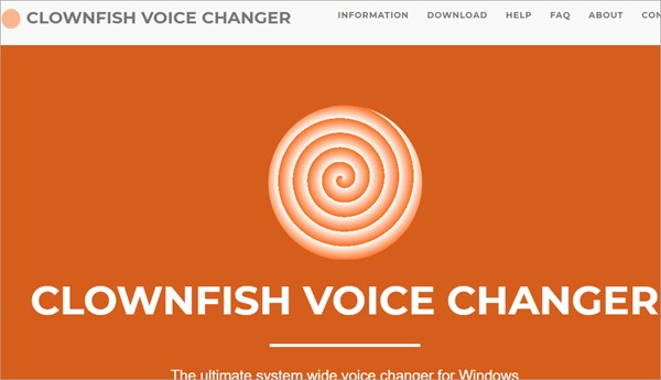 Clownfish discord voice changer