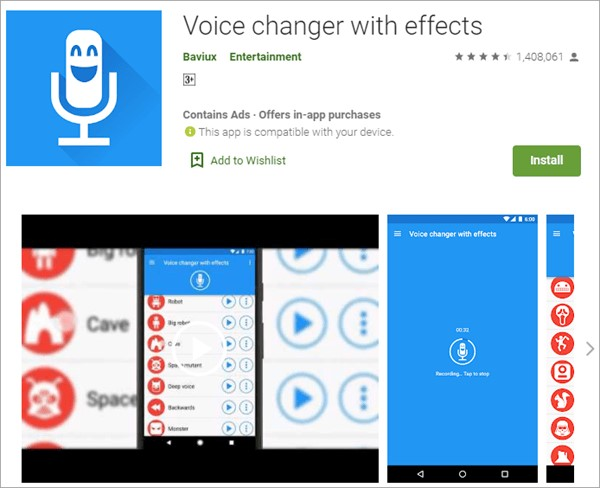 Discord Voice Changer with Effects