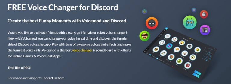 VoiceMod Free Voice Changer for Discord